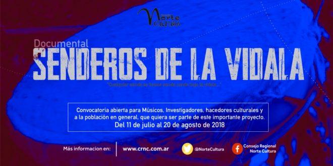 CONVOCATORIA PARA PARTICIPAR DEL PROYECTO SENDEROS DE LA VIDALA