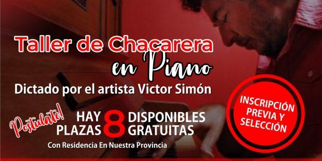 Becas Cultura: Taller de Chacareras en el piano